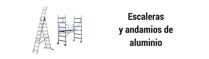 Escaleras y andamios de aluminio