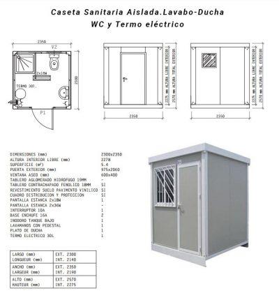 Caseta-Sanitaria-Aislada-2metros alquiler y venta maquinaria