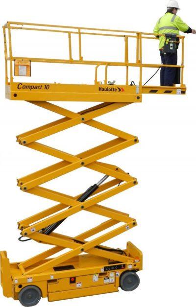 plataforma tijera diesel 12
