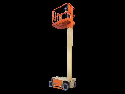 plataforma tijera mástil vertical 8 metros