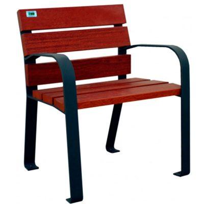 silla abril con reposa brazos