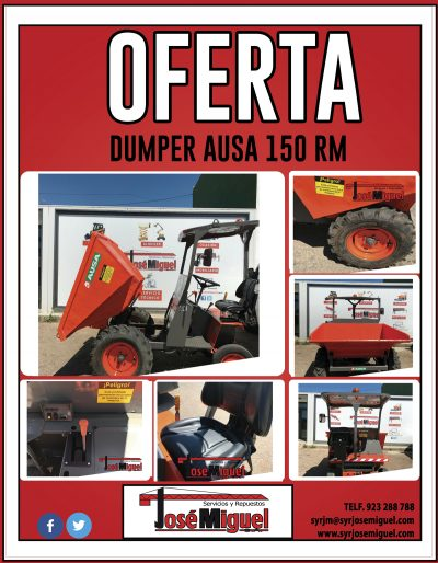 venta-dumper-ausa-150-rm
