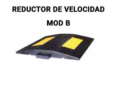 reductor velocidad para calles mod b
