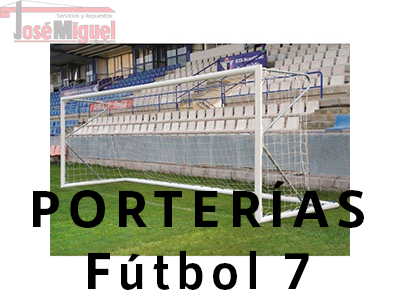 venta porterias futbol 7