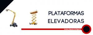 plataformas elevadoras alquile