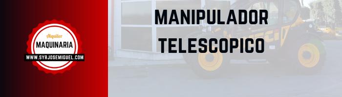 manipulador dieci telescopico alquiler salamanca