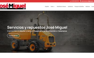 Servicios y Repuestos José Miguel SA lanza su nueva imagen y web corporativa